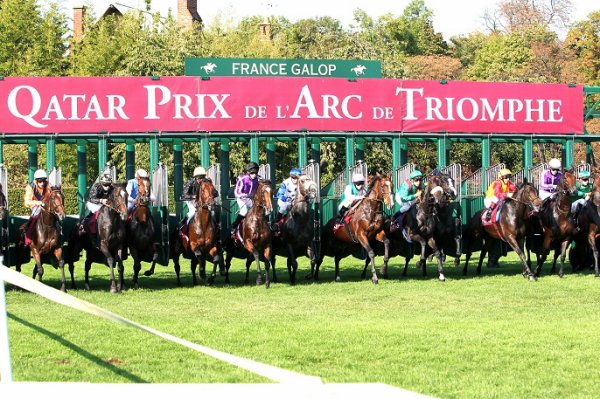 CHANTILLY le 02/10/2016 Prix de l'Arc de Triomphe