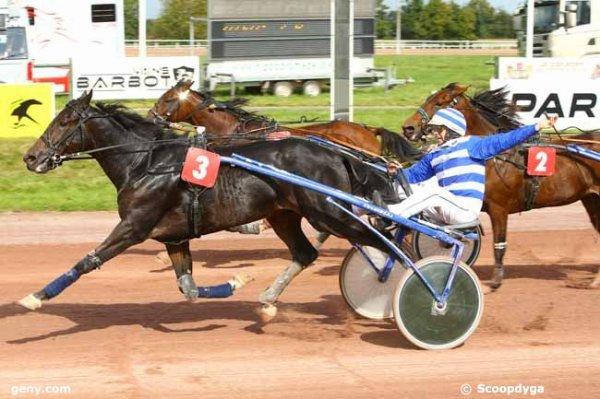 Voila un beau gagnant a Angers : 405 Célia du Minon gagne ! PMU.FR pour 1 ¤ 5 Gagnant 100,90 ¤ 5 Placé 12,30 ¤