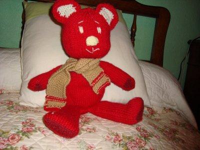 Des nounours en tricot