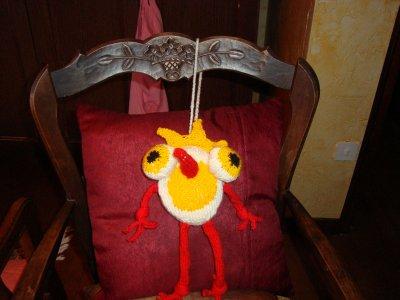 Une créature ......en tricot
