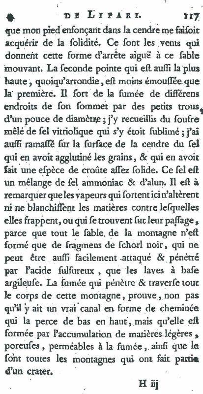 """Récit de Déodat de Dolomieu: """"Voyage aux îles de Lipari fait en 1781"""""""