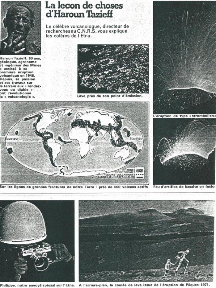 """Extraits de la revue """"Parents"""" n° 65 de juillet 1974 - """"Petit Prince des volcans"""" par Frédéric Musso"""