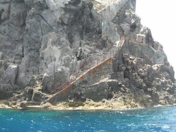 tour de l'île - Strombolicchio - 16/06/2010