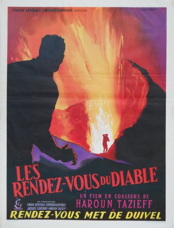 """Les RDV du diable"" d'Haroun Tazieff"