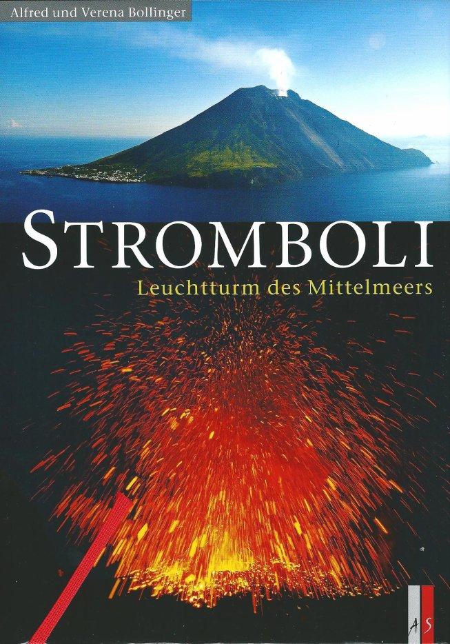 """Nouveau livre en allemand """"Stromboli"""" (03/2012) d'Alfred & Verena Bollinger"""