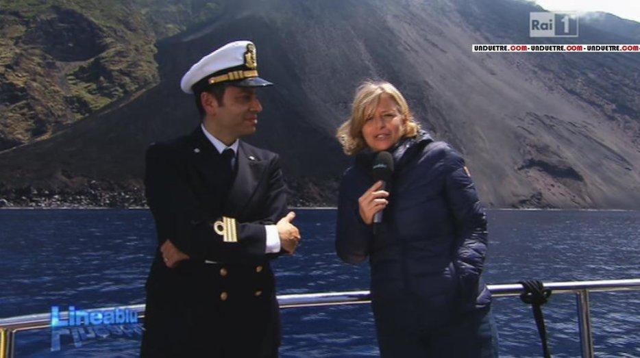 """""""Lineablu"""" spécial Stromboli sur la RAI1 le samedi 31/05/2014"""