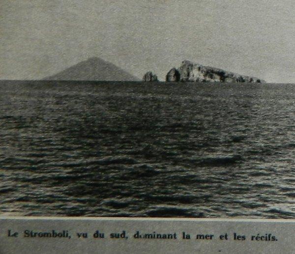 """""""Le Soir Illustré"""" n°891 du 21/07/1949 - Le secret du Stromboli par Haroun Tazieff - 3"""