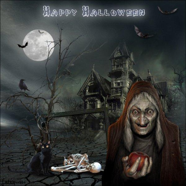 Bon Halloween à tous