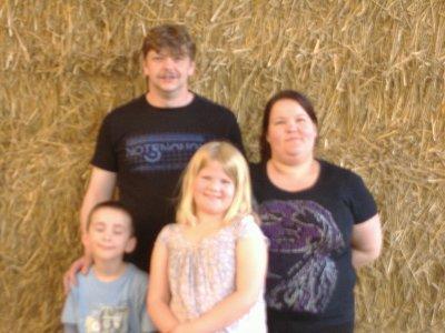 mon homme mes enfants et des amies