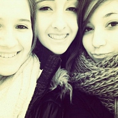 True friends are hard to find, difficult to leave and impossible to forget. <3 They , my life<3