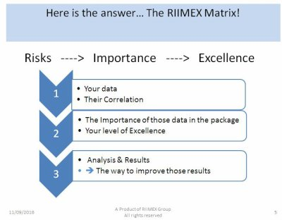 The RIIMEX matrix