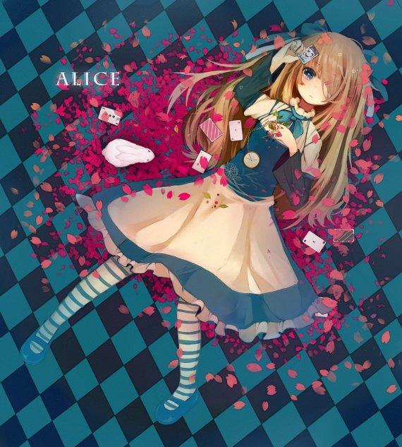 Alice, oui Alice il s'agit bien d'un rêve mais alors où se trouve la réalité?...