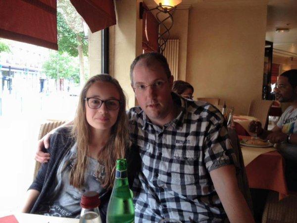 Sortie au resto (à Valenciennes) avec ma ptite filleule chérie