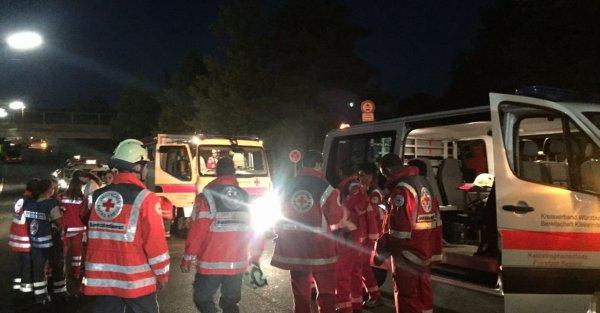 Le 19.07.2016 Attaque à la hache en Allemagne