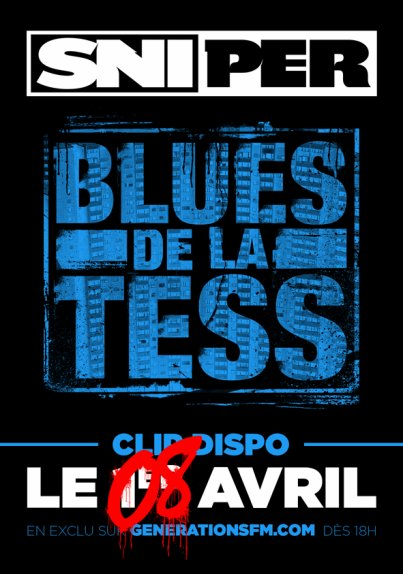 LE CLIP BLUES DE LA TESS ARRIVE LE 8 AVRIL