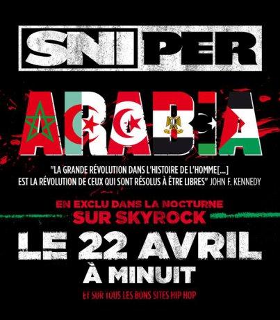 le nouveau morceau evenement ARABIA vendredi 22 AVRIL a minuit dans la NOCTURNE!!