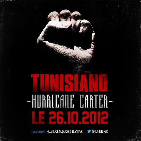 Hurricane Carter le premier extrait du nouvel album de Tunisiano arrive le 26.10.12.