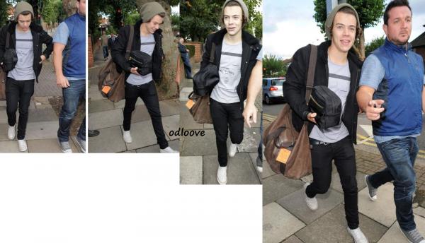 Harry dans les rue du Nord de Londres - 30 Août