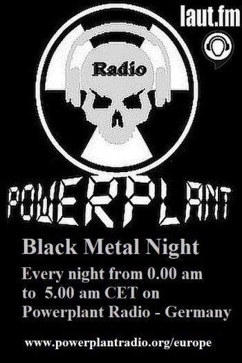 BLACK METAL ON POWERPLANT RADIO LAUT FM