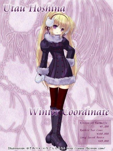 # Mon personnage manga : Utau Hoshina #