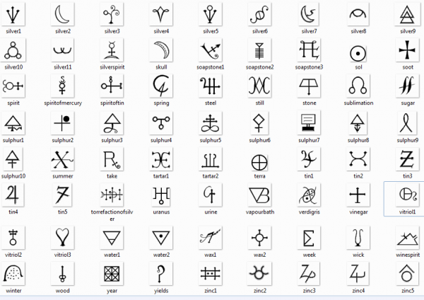 Symbols of Alchemy