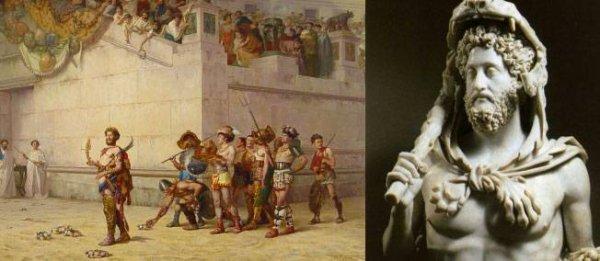 31 décembre 192. Parano, mégalo et cruel, l'empereur Commode est étranglé par son esclave Narcisse.