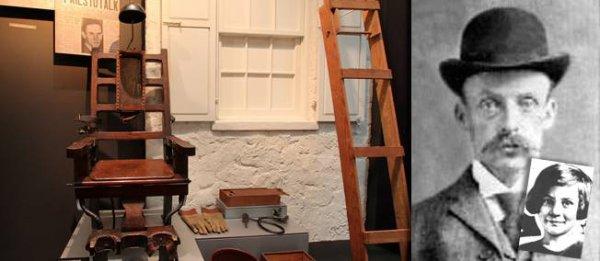 16 janvier 1936. Albert Fish grille sur la chaise électrique, coupable d'avoir dévoré des enfants.
