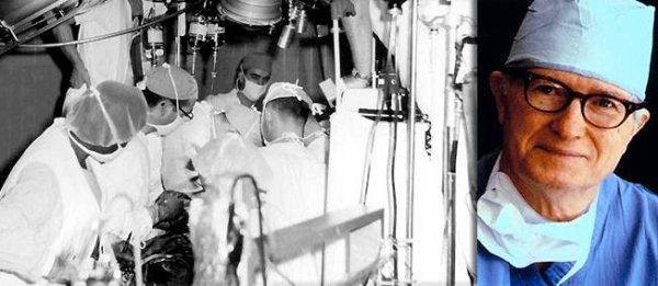 23 janvier 1964. Faute d'un coeur humain, le docteur Hardy greffe celui d'un chimpanzé à son malade