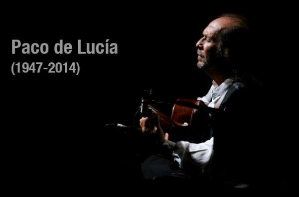 LE GUITARISTE FLAMENCO PACO DE LUCÍA EST MORT