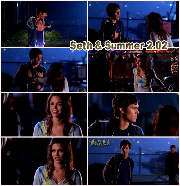 Scène - The O.C - Seth & Summer 2x02