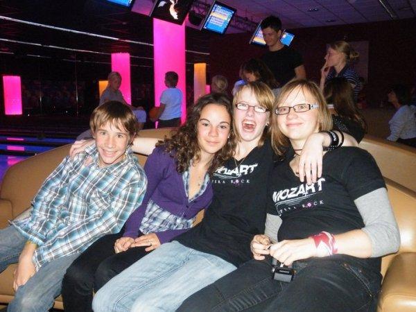 Loïc, Delphine, Julie et moi