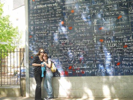 """Le mur des """"Je t'aime"""" à Paris"""