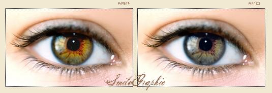 • Changer la couleur des yeux.