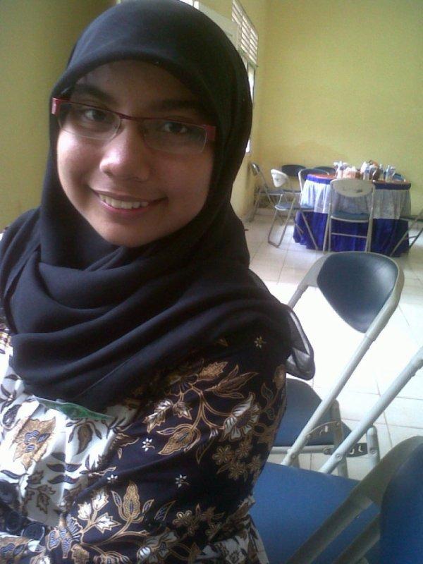 with my batik :)