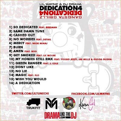 New Rap.US / HiPHoP ◄◄AlBuM Lil Wayne-Dedication 4►►