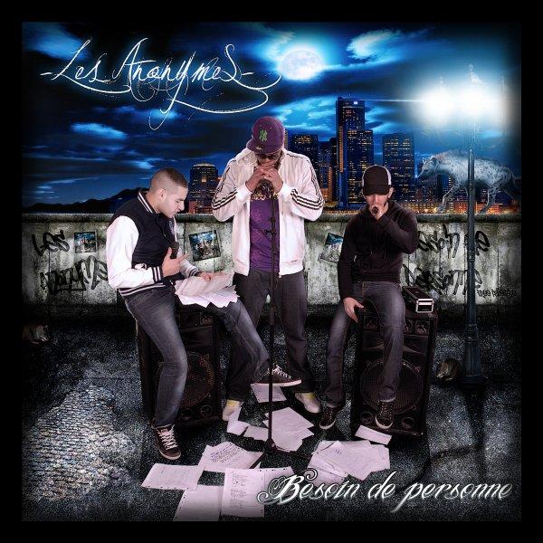 """Pochette du street album """"Besoin de personne"""""""