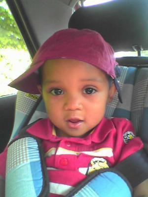 mon fils logan je taime bébé