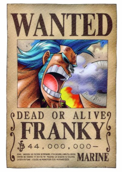 wanted franky