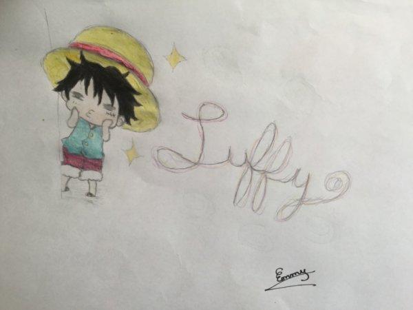 Chibi Luffy ! :3