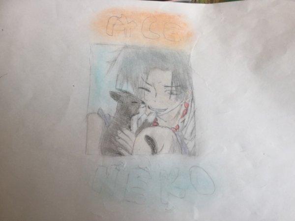 Neko & Ace ! :3