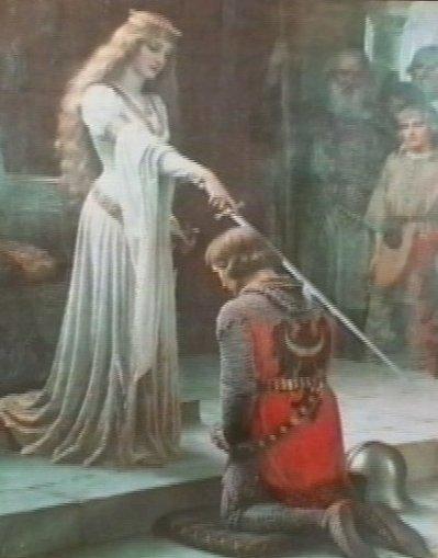 juste pour rester dans le ton guenievre fesant lancelot chevalier de la table ronde legende