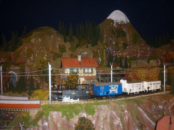 """château  """"la ville chevalier"""" à PLOUAGAT  (22/12/16)  :magnifique  exposition de trains miniatures et une animation Noel amgique + une crèche superbe dans la chapelle."""