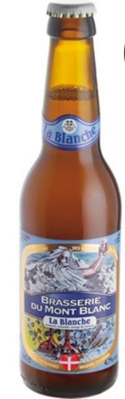 La Bière du Mont-Blanc, en version blanche, vient d'être sacrée championne du monde au World Beer Awards dans sa catégorie