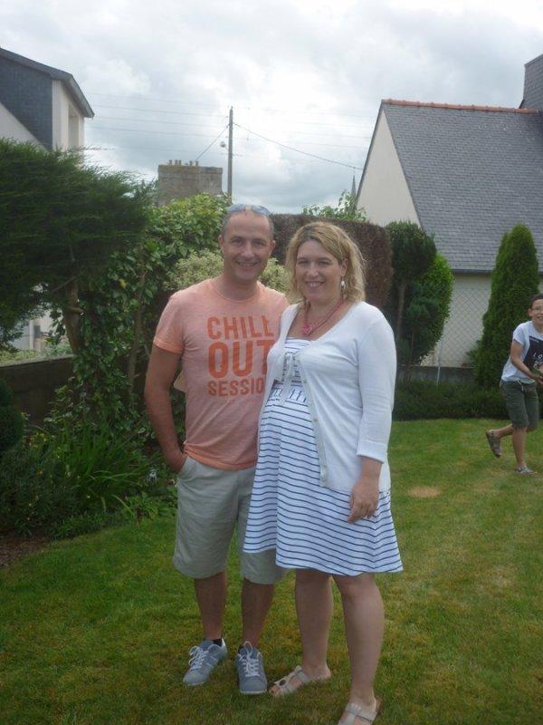 Samedi 3 juin   installation dans  le 2ème gîte à côté de Guingamp et visite de nos Bretons.