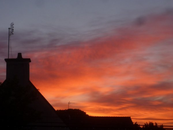 Dimanche 4 juin lever du soleil(6H) et Perros Guirec