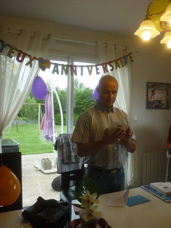 Mardi 6 juin 2017 Bon anniversaire Antoine...45 ansheureux d'être en Bretagne pour ce beau jour.