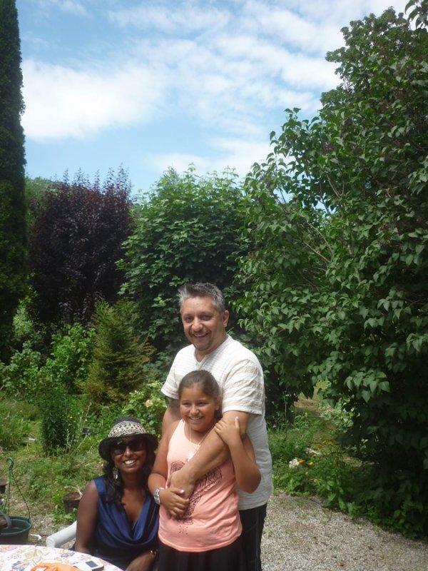 anniversaire en famille pour ambre  vendredi 7 juillet 2017     10 ans