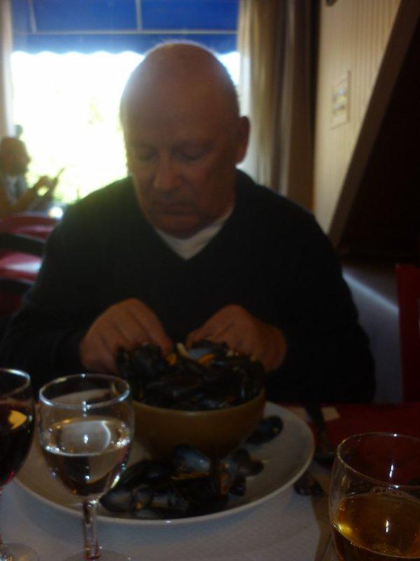Abbaye de Beauport ...vues superbes et   plats bretons super!