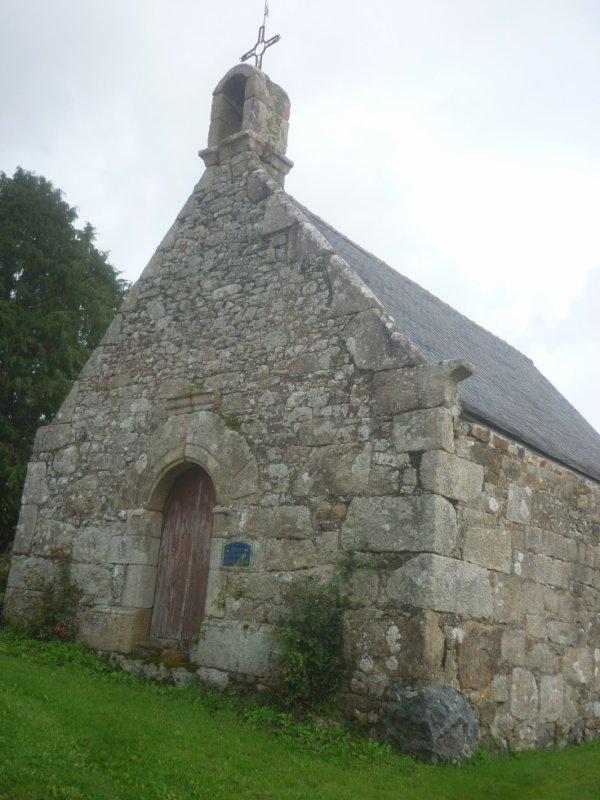 vendredi 29 septembre chapelle  St Médard à  locmenal+ encore de très beaux hortensias