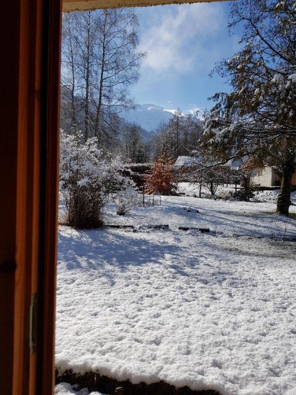1er Avril...il neige.il y a 20 ans ,pour benoît ,les forsythias étaient en fleurs...tu  es toujours parmi nous....